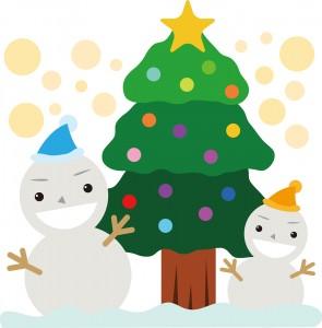 クリスマスのお友達