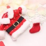 レインボールームサンタクロースの編み方★クリスマスチャーム