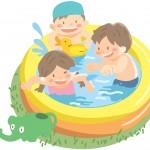 赤ちゃんの水遊びやプールははいつから入っていいの?注意点は?