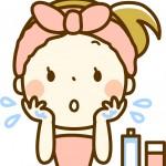 お風呂上がりに汗が止まらない!化粧水をつけるタイミングはいつ?