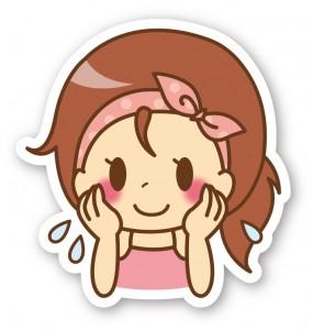 女性_洗顔_化粧水