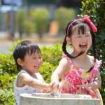 東京で水遊びを無料で出来る場所!赤ちゃんも安心!